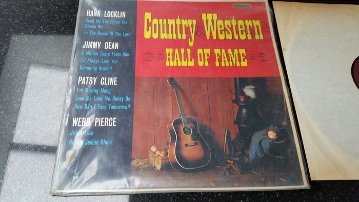 Various Artists/Bands in Country - Multiple artists - Multiple titles - CD Box set, CD's, LP's - 1965/2014