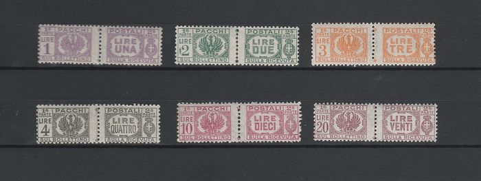 Italië koninkrijk 1946 - Postal parcels from 1927–32 without fasces in the centre - Sassone N. S2106