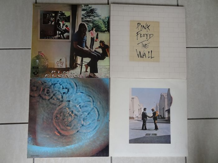 Pink Floyd - Meddle - the wall - Ummagumma - Wish you were here - Useita teoksia - LP - 1969/1979