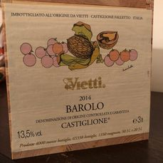 "2014 Vietti ""Castiglione"" - Barolo - Only 50 Numbered bottles produced - 1 Double Magnum/Jeroboam (3.0L)"
