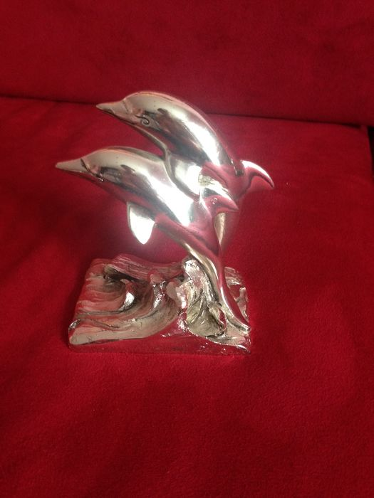 Figurine(s) (1) - Silver plated