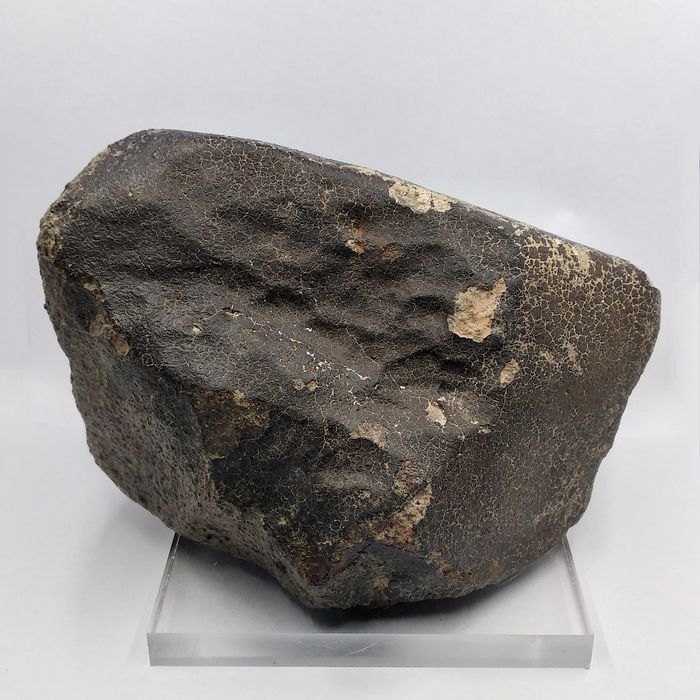NWA METEORITE. Excellent quality. Shrinkage cracks CONDITION - 2157 g