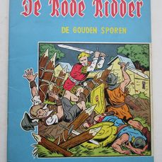 De Rode Ridder 2 - De gouden sporen - Softcover - First edition - (1960)