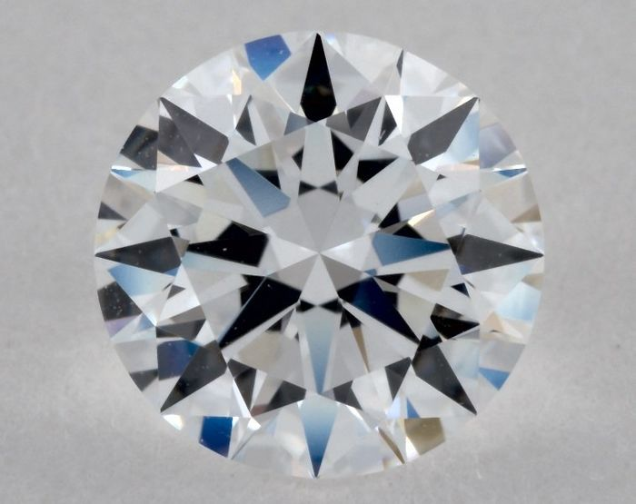1 pcs Diamond - 1.03 ct - Round - D (colourless), GIA - 3EX - VVS2, Low Reserve Price + Free Shipping