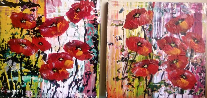 Violeta Endo - Happy poppies