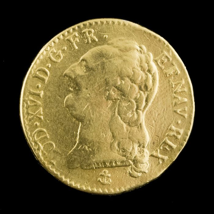 France - Louis XVI - Louis d'or 1786-H (La Rochelle) - Gold
