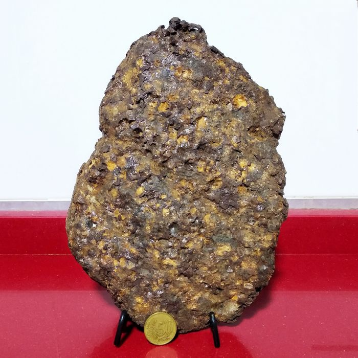 SERICHO METEORITE. Excellent form. PALLASITA XL MUSEUM quality. - 4474 g