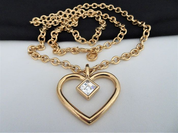Givenchy - XL Heart Pendant on Long  Necklace