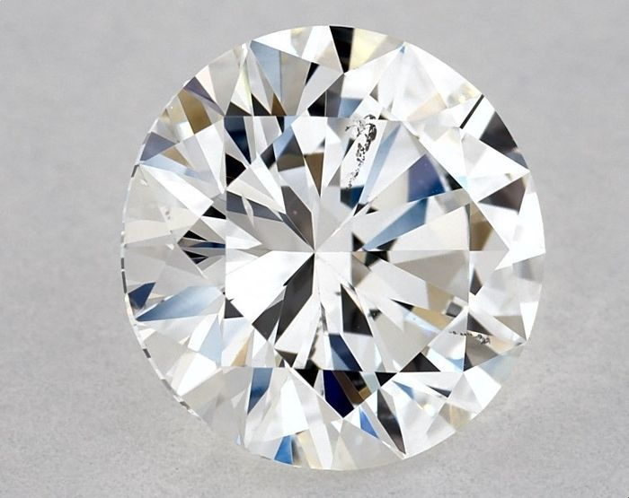 1 pcs Diamond - 1.13 ct - Round - F, GIA - 3VG - SI1, Low Reserve Price + Free Shipping