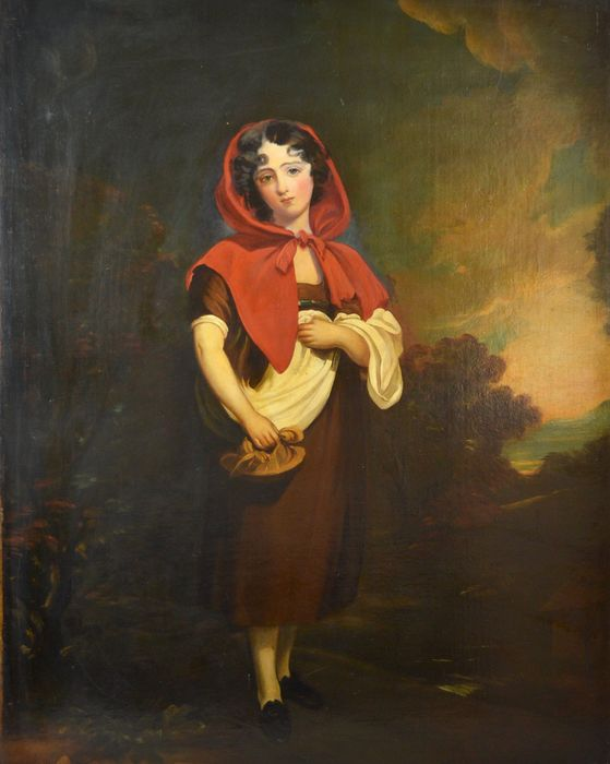 After Sir Thomas Lawrence (1769-1830) - Emily Anderson - Little Red Riding Hood