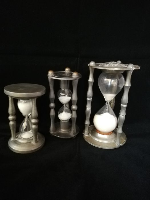 Hourglasses tin (3) - tin