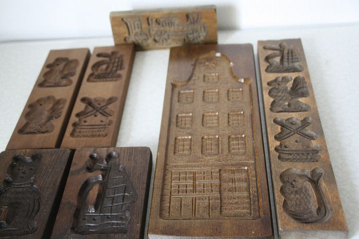 Speculoos boards with special figures (7) - wood