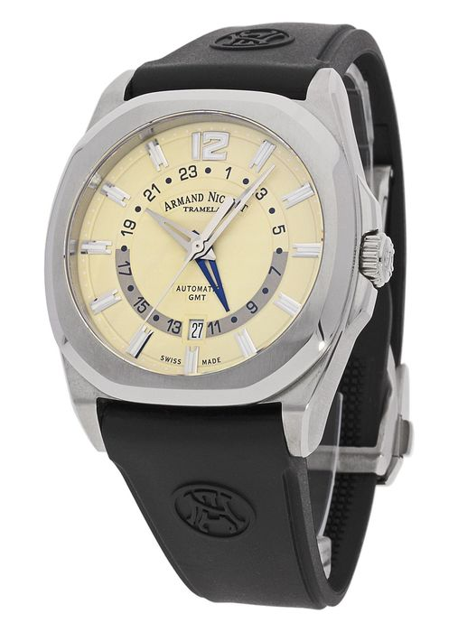 Armand Nicolet - J09-2 GMT automatic - A653AAA-IV-GG4710N - men - 2011-today