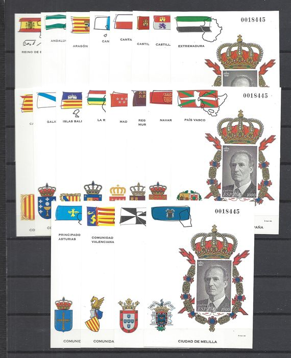 Spanje - Official proofs of the Autonomous Regions - Edifil 37/56