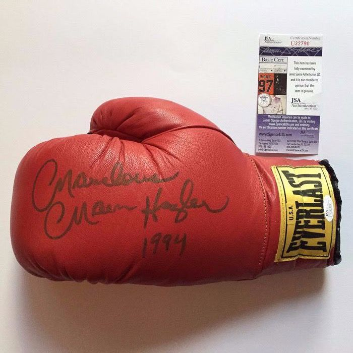 Boxing - Marvelous Marvin Hagler - 1994 - Boxing glove