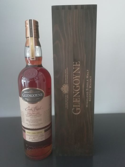 Glengoyne 1996 14 years old Port Cask Finish - b. 2010 - 70cl