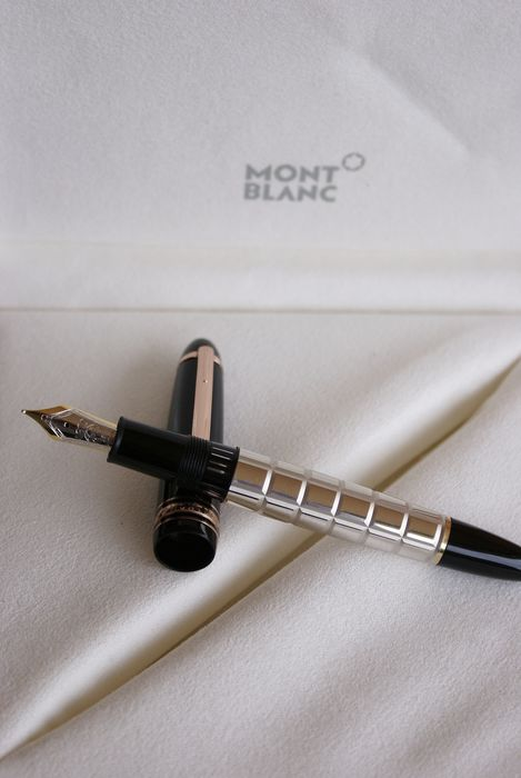 """Montblanc - Exceptional and Rare fountain pen 18 kts Meisterstück 146 Doue """"Special Edition"""""""