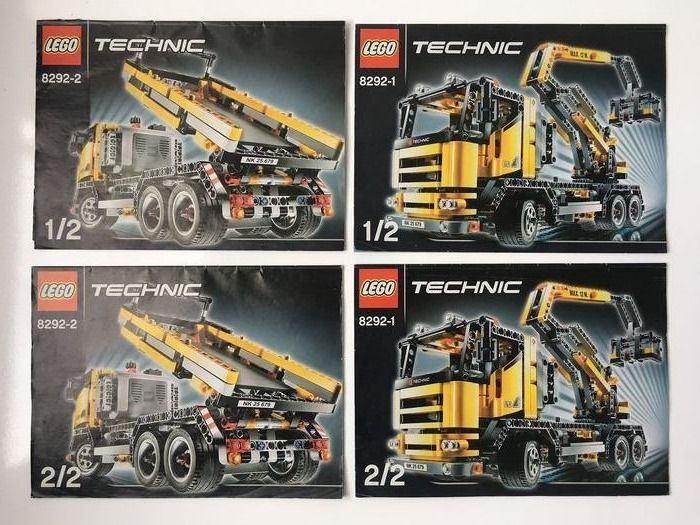 LEGO - Technic - 8292 - Vrachtwagen Cherry Picker