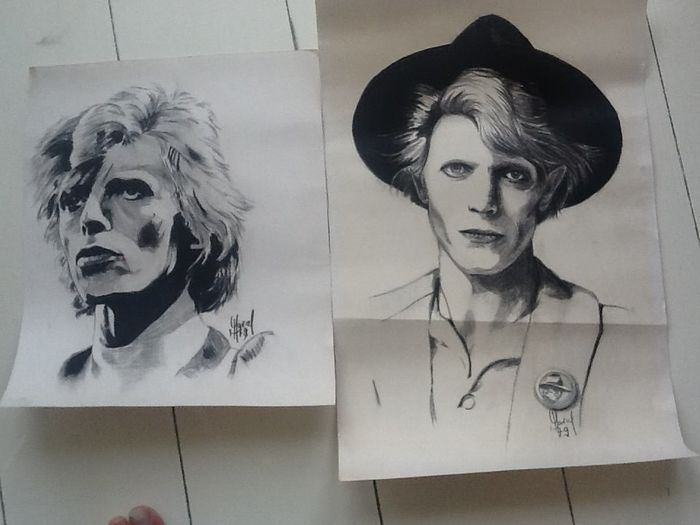 David Bowie - Artwork/ Painting - 1979/1979