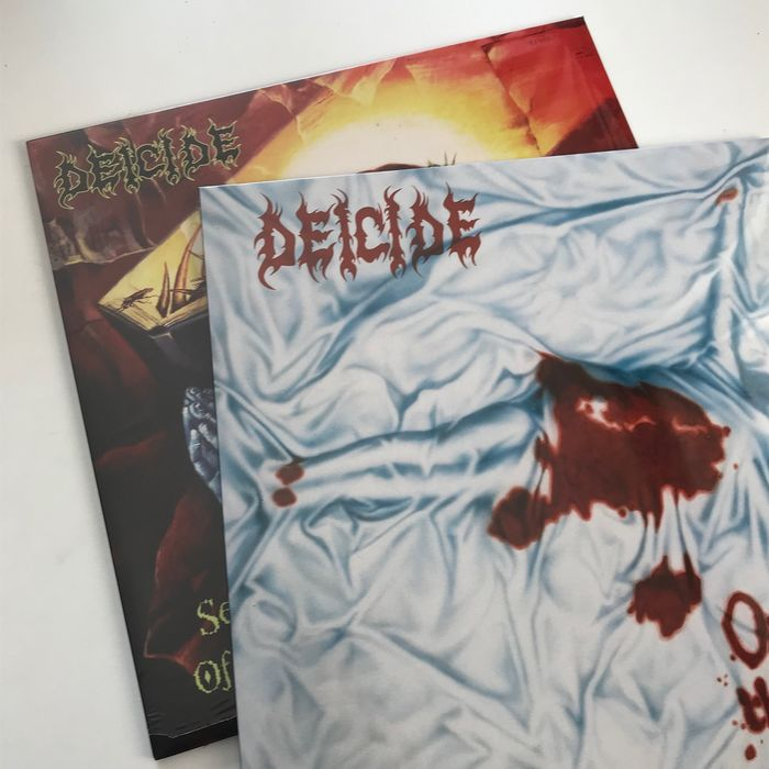 Deicide - Collection of 2 original, sealed and deleted LPs - LP Album - 1995/1997