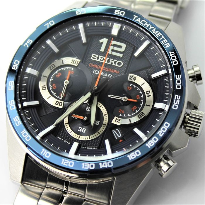 "Seiko - ""NO RESERVE PRICE""  Neo Sports Chronograph - New & Boxed - Herren - 2011-heute"