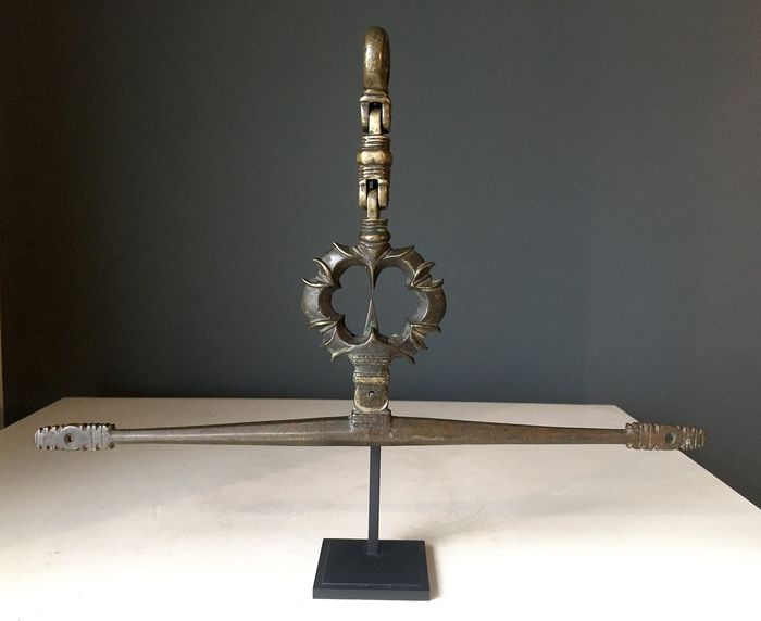 Balance or scale - Gothic - Bronze - Early 15th century