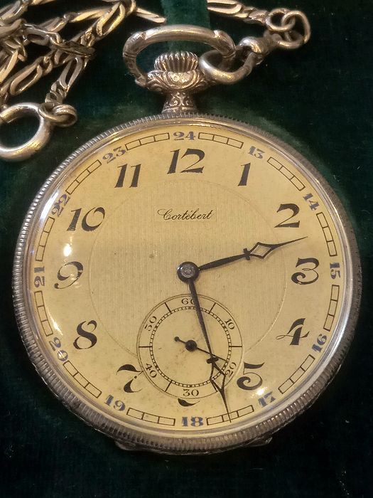 Cortébert - Art Deco - pocket watch NO RESERVE PRICE  - Heren - 1901-1949