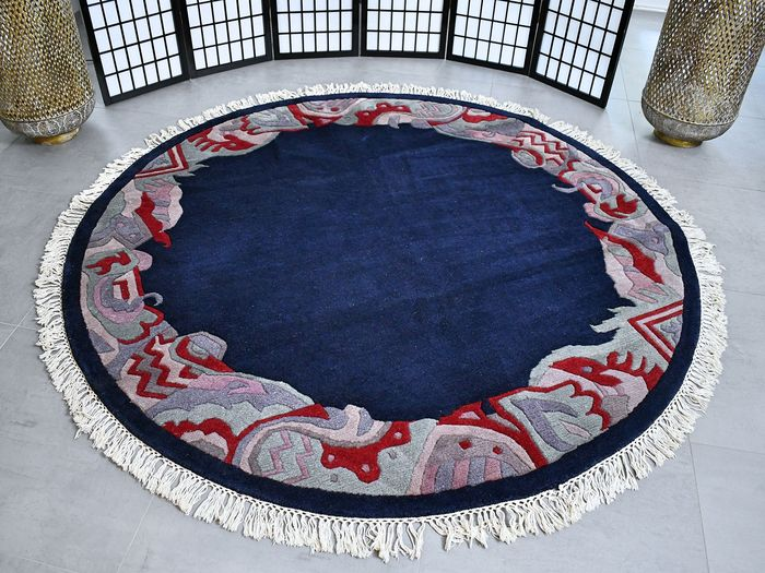 Modern Contemporary   - Rug - 195 cm - 195 cm