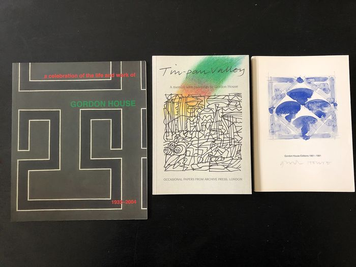Gordon House - Editions 1961-1981, Tin-pan Valley, a Celebration of the life and work - 1981/2004
