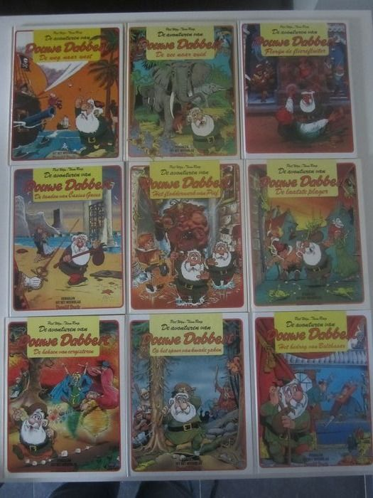Douwe Dabbert - delen 3 t/m 6 - Hardcover - First edition - (1978/1979)