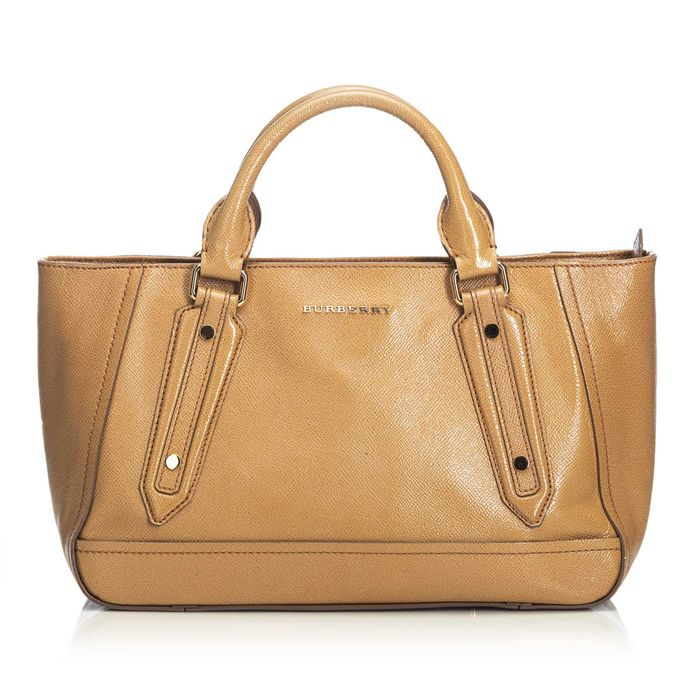 Burberry - Leather Somerford Satchel Satchel