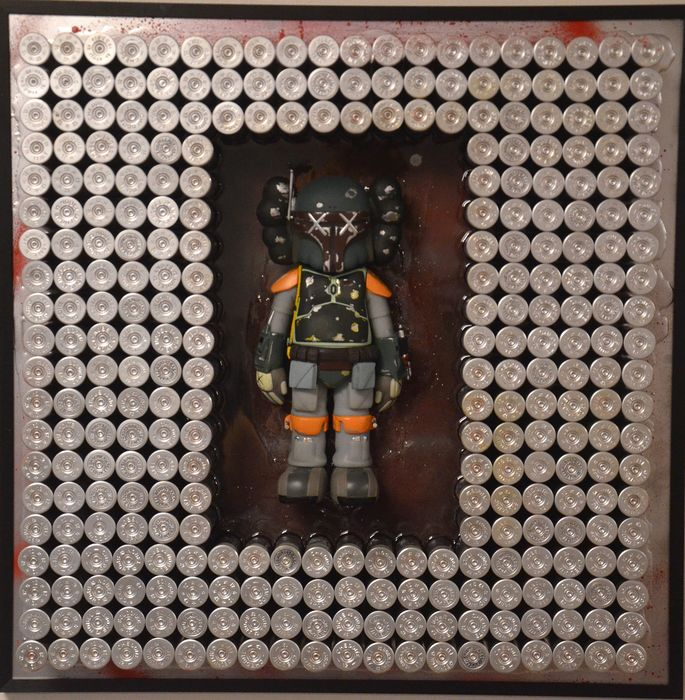 Dine Chanima  - bullets for KAWS (Boba Fet - Medicom edition)