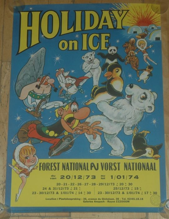 Asterix - affiche Holiday on Ice - First edition - (1973)