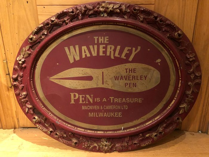 Waverley - THE WAVERLEY pen advertising Early 20th Century