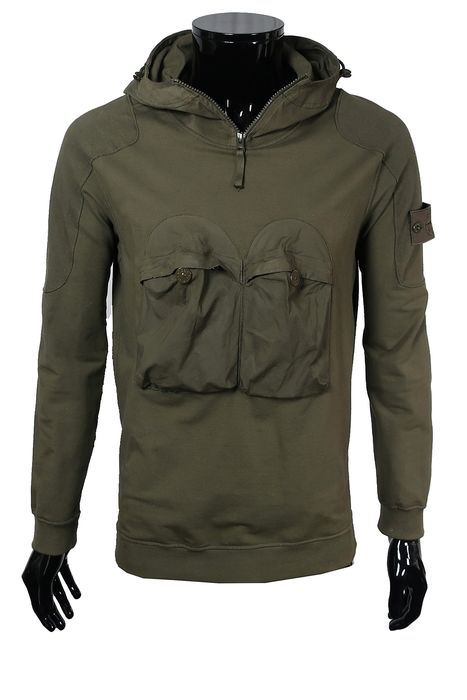 Stone Island - Hooded Sweater - Size: Size IT48  Maat M