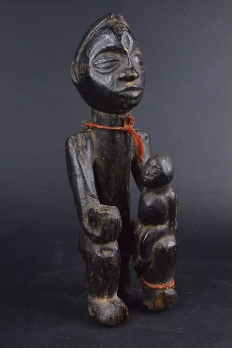 Carving - Wood - Maternité - Baoulé - Ivory Coast