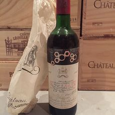1967 Chateau Mouton Rothschild - Pauillac 2éme Grand Cru Classé - 1 Bottle (0.75L)