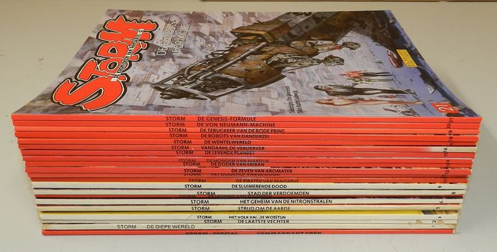 Storm 0 t/m 21 - Diverse Titels - Softcover - Different editions - (1978/2004)