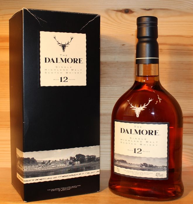 Dalmore 12 years old - Landscape label (discontinued) - 70 cl