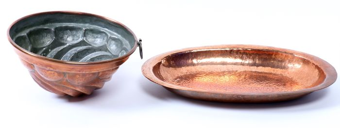 baking mold, Plate (2) - Copper
