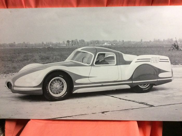 Picture Fiat. 8v. Record - Fiat - Enlargement. Photo. Official. Fiat 8 V. Record - 1980-1980