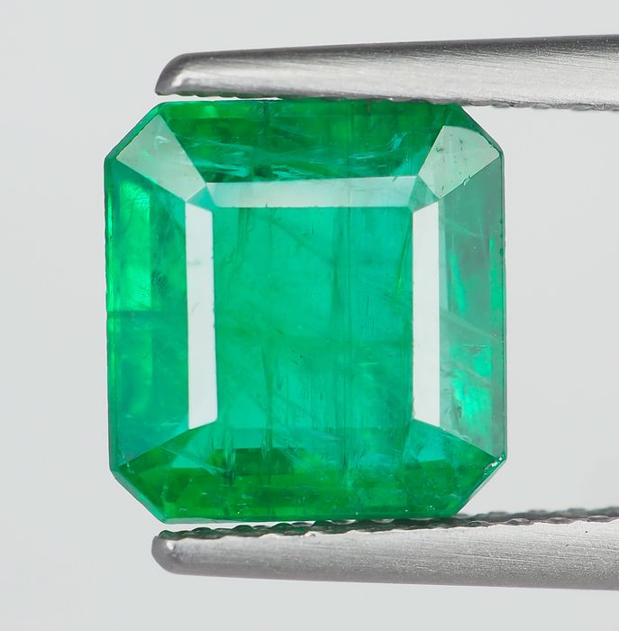 Ingen reserv - Deep Green Emerald - 2.13 ct
