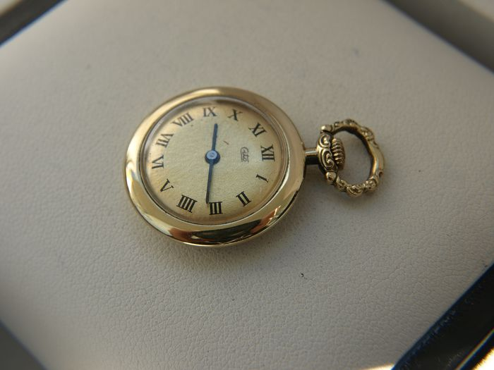 Cito -Keppler KG / Keppler & Merkle / Cito watch factory - 14K Gold  pocket watch NO RESERVE PRICE  - Heren - 1901-1949