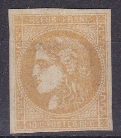 France 1869 - Bordeaux 10c - Yvert 43B