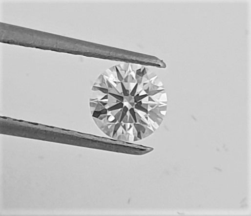 Diamond - 0.50 ct - Brilliant - F - VS2