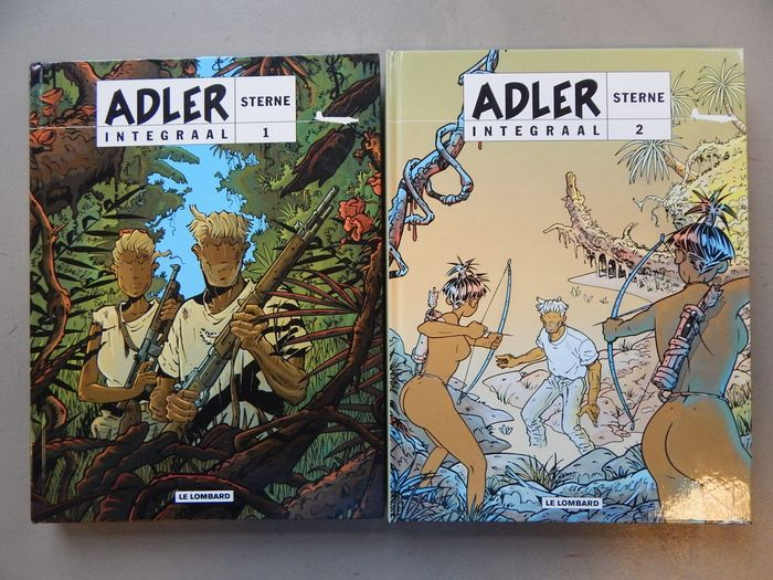 Adler Integraal I + 2  - 2x hc  - Hardcover - First edition - (2008)