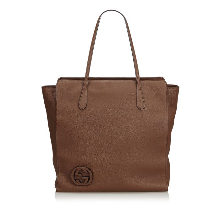 Gucci - Leather GG Tote Bag Tote bag