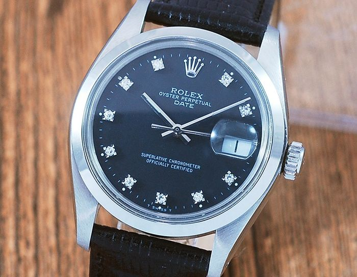 Rolex - Oyster Perpetual Date - 1500 - Hombre - 1970-1979