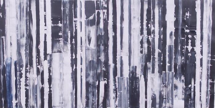Francisco Santos - Black and white and white and black