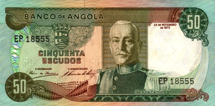 Angola - 12 banknotes 1972,1973 (some consecutive numbers)